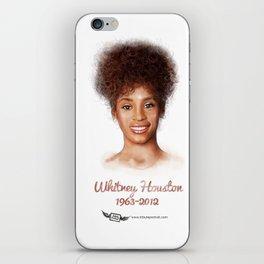 Houston, Whitney iPhone Skin