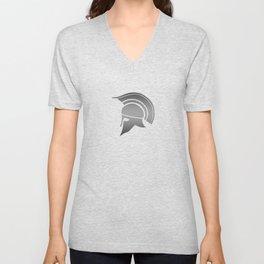 Ancient Greek Spartan Helmet Unisex V-Neck