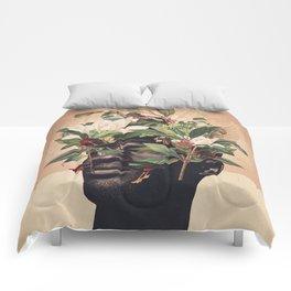 Birds are my Real Origin Reversed Comforters