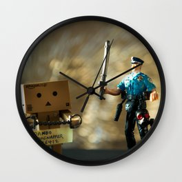 Busted Wall Clock