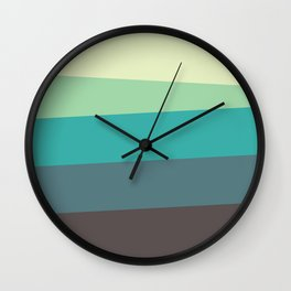 Green Tone Wall Clock
