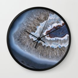 Ringed agate 3099 Wall Clock