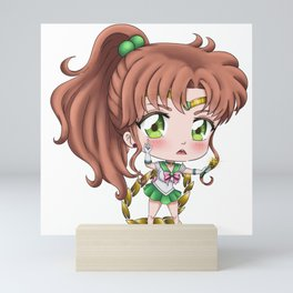 Sailor Jupiter / Makoto Kino (Chibi) Mini Art Print