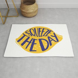 Squeeze The Day - Lemon Rug