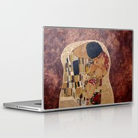 klimt Laptop & iPad Skins featuring Klimt copy by Elisa Gandolfo