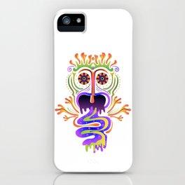Hallucinatory creature iPhone Case