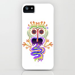 Hallucinatory creature iPhone Case