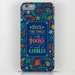 Deck The Shelf iPhone Case