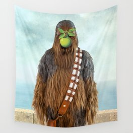 Chewbacca in The Son of A Man Wall Tapestry