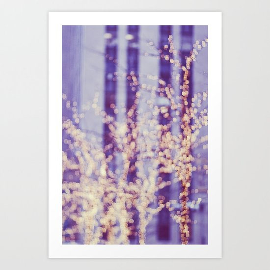 Dancing with the Light Art Print