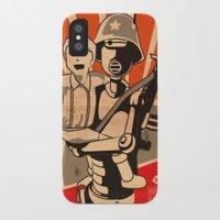 propaganda iPhone & iPod Cases featuring Propaganda Series by Alex Raveland