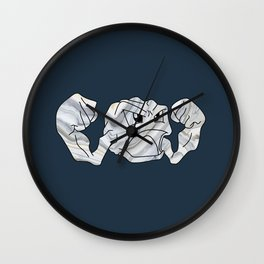 Geode Dude Wall Clock