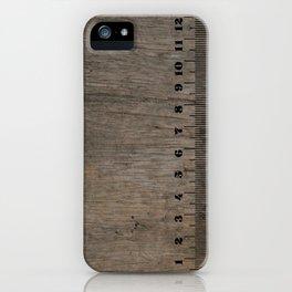 old style ruler iPhone5 + 11 oz mug iPhone Case