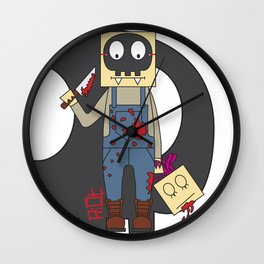 BLOODY Wall Clock