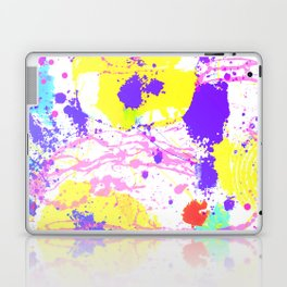 Abstract Urban Painting - Flowers Graffiti Style Laptop & iPad Skin
