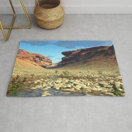 Desert Pool 3D Fractal Render Rug