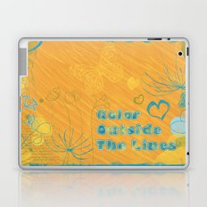 Color Outside The Lines Laptop & iPad Skin