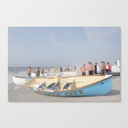 Atlantic City Lifeboats Canvas Print