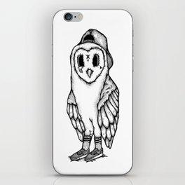SkateOwl iPhone Skin