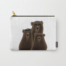 If you're going to be a bear, be a Grizzly! Carry-All Pouch