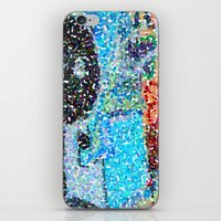 detroit iPhone & iPod Skins featuring DETROIT GRAFFITI by Brittany Gonte