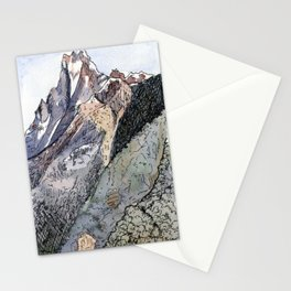 Machhapuchhre Mountain Stationery Cards