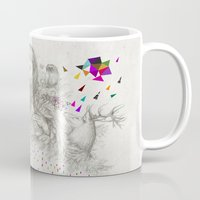 kris tate Mugs featuring ECHOES by Peter Striffolino and Kris Tate by Peter Striffolino