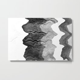 05_Waves Metal Print