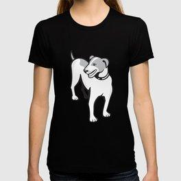 Jack Russell Terrier Standing Cartoon T-shirt