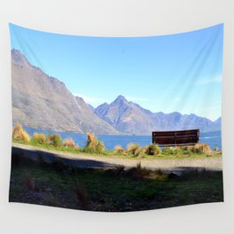 Queenstown Bench Wall Tapestry