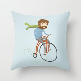 If I had a bike Throw Pillow