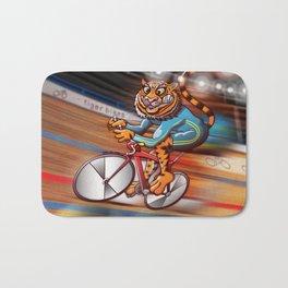 Olympic Cycling Tiger Bath Mat