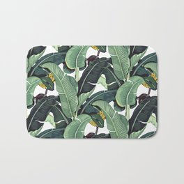 banana leaf pattern Bath Mat