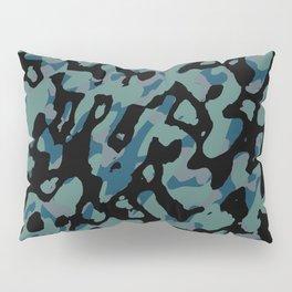 blue camo Pillow Sham
