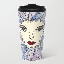 Green Lady - Winter Metal Travel Mug