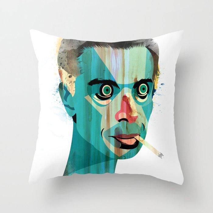 Smoker Throw Pillow