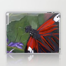Red and Black Butterfly Laptop & iPad Skin