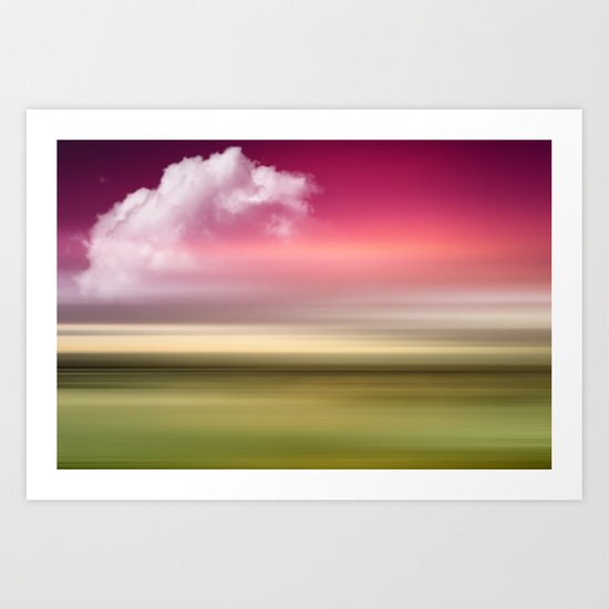 The Sound of Light and Color - Fresh Spring Art Print