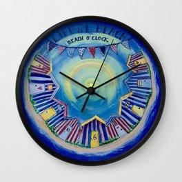 Beach o'clock Wall Clock