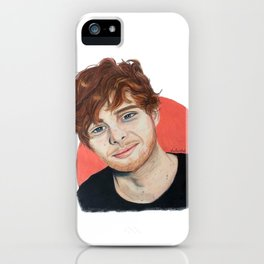 Luke // Peaches iPhone Case