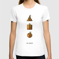 bee T-shirts featuring BEE DIFFERENT by Huebucket