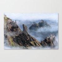 luke hemmings Canvas Prints featuring Luke  by Aimee Stewart