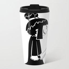 Cute Killer Metal Travel Mug