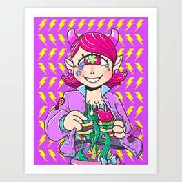 Cyclops organs Art Print