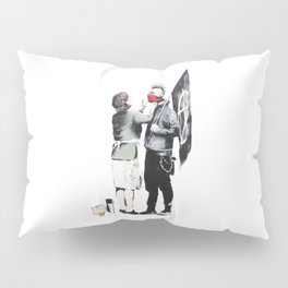 Banksy, Punk with mother Pillow Sham