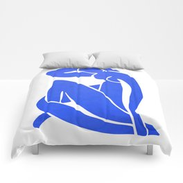 BLUE MATISSE CUT OUT Comforters