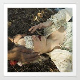 Qu'ils mangent de la brioche I - Marie Antoinette Art Print