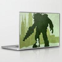 bioshock Laptop & iPad Skins featuring Vector Bioshock by LoweakGraph