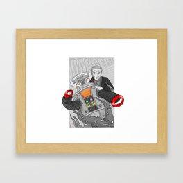 Danger Dr. Smith Framed Art Print