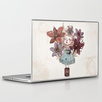 coffe Laptop & iPad Skins featuring Coffe time by flaviasorr